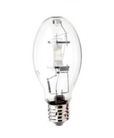 Satco S1936 Satco H39KB-175 175 Watt ED28 E39 Mogul Base Clear 3900K 24000+ Hour Universal Operating Position H39 ANSI Mercury Vapor Light Bulb