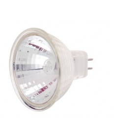 Satco S4188 Satco 75MR16/SP/C 75 Watt MR-16 12 Volt GX5.3 Bi-Pin Base ANSI EYF Lensed UV Block 2000 Hour Spot 9 Degree Halogen Light Bulb