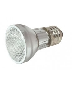 Satco S2302 Satco 60PAR16/HAL/NSP 130V 60 Watt 130 Volt PAR16 Medium Base Narrow Spot Halogen Light Bulb