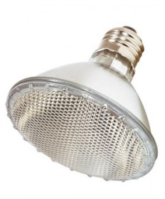 Satco S2312 Satco 75PAR30/HAL/NSP 130V 75 Watt 130 Volt PAR30 Medium Base Narrow Spot Halogen Light Bulb