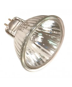 Satco S2601 Satco 20MR16/B/FL35 BAB 20 Watt 12 Volt MR16 BAB GU5.3 Base Aluminized Flood Reflector Halogen Lamp
