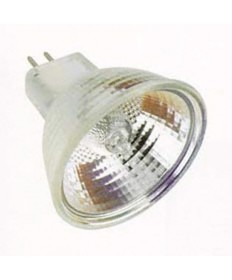 Satco S2625 Satco 50MR16/T/WFL60 FNV 50 Watt 12 Volt MR16 GU5.3 Base Hard Coated Dichroic Reflector Wide Flood Halogen Lamp