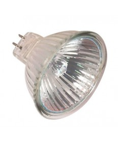 Satco S2638 Satco 50MR16/IR/FL40/C 50 Watt 12 Volt MR16 GU5.3 Base Infra-Red Reflecting Energy Saver Hard Coated Dichroic Flood Lensed Halogen Lamp