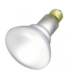 Satco S3408 Satco 65BR30/FL 130V 65 Watt BR30 130 Volt E26 Medium Base Frost Flood Reflector Incandescent Light Bulb