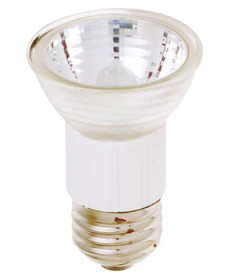 Satco S3114 Satco 100JDR16/FL 100 Watt 120 Volt JDR16 E26 Medium Base Flood Halogen Lamp