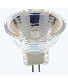 Satco S3154 Satco 20MR11/NFL (FTD) 20 Watt 12 Volt MR11 GZ4 Base Narrow Flood 24 Degree Halogen Lamp