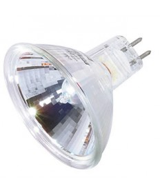 Satco S3170 Satco 50MR16/NSP/C (EXT/C) 50 Watt 12 Volt MR16 GX5.3 Base EXT/C Narrow Spot Lensed Halogen Lamp