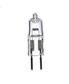 Satco S3171 Satco 10T3/CL 10 Watt 12 Volt T3 Clear G4 Bi Pin Base Halogen Light Bulb