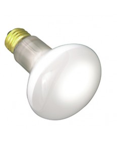 Satco S2810 Satco 30R20/130 30 Watt 130 Volt R20 Medium Base Frost Reflector Incandescent Light Bulb