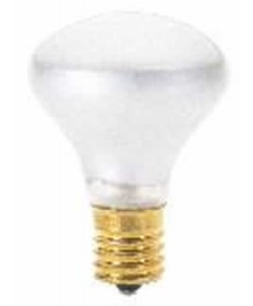 Satco S4700 Satco 25R14N 25 Watt 120 Volt R14 Intermediate Base Frost Reflector Flood Carded Light Bulb