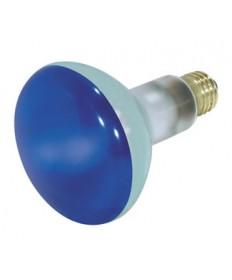 Satco S3228 Satco 75BR30/B 75 Watt 130 Volt BR30 Medium Base Blue Flood Light Bulb