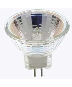 Satco S3460 Satco 20MR16 ESX 20 Watt 12 Volt MR16 ESX GX5.3 Base NSP 9 degree Carded Halogen Lamp