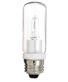Satco S3474 Satco 150T10Q/CL 150 Watt 120 Volt T10 Medium Base Clear Double-Envelope JDD Type Halogen Light Bulb