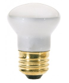 Satco S4704 Satco 25R14 25 Watt 120 Volt R14 Medium Base Reflector Carded Light Bulb