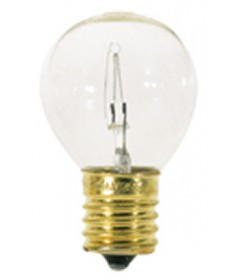 Satco S3729 Satco 40S11/N 40 Watt 115/125 Volt S11 Intermediate Base Clear High Intensity Incandescent Carded Light Bulb
