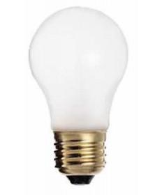Satco S3949 Satco 15A15/F 15 Watt 130 Volt A15 Medium Base Frost Incandescent Light Bulb