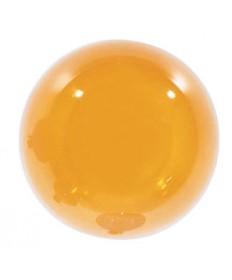 Satco S3836 Satco 10G12.5/A 10 Watt 120 Volt G12.5 Candelabra Base Amber Globe Light Bulb