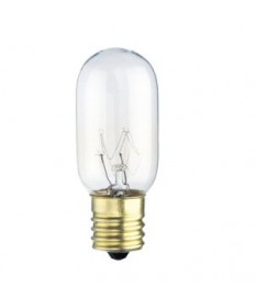 Satco S3908 Satco 25T8/N 25 Watt 130 Volt T8 Intermediate Base Clear Incandescent Light Bulb