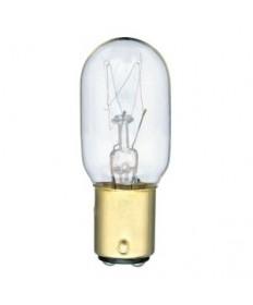 Satco S3909 Satco 25T8/DC 25 Watt 130 Volt T8 Double Contact Bayonet Base Clear Incandescent Light Bulb