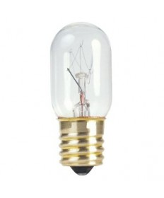 Satco S4722 Satco 15T7/N 15 Watt 130 Volt T7 Intermediate Base Clear Incandescent Carded Light Bulb