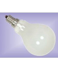 Satco S4161 Satco 40A15F/E12S 40 Watt 120 Volt A15 E12S Candelabra Base Frost Ceiling Fan Incandescent Light Bulb