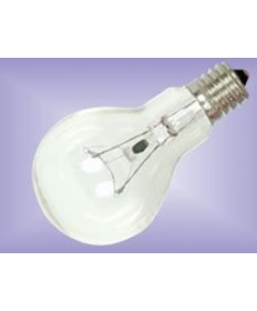Satco S4166 Satco 60A15C/E17 60 Watt 120 Volt A15 E17 Intermediate Base Clear Ceiling Fan Incandescent Light Bulb