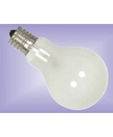 Satco S4165 Satco 40A15F/E17 40 Watt 120 Volt A15 E17 Intermediate Base Frost Ceiling Fan Incandescent Light Bulb