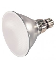 Satco S4106 Satco 60PAR38/FL/FROST 60 Watt PAR38 120 Volt E26 Medium Skirt Base Frosted Flood Halogen Light Bulb