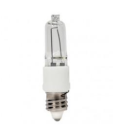 Satco S4488 60 Watt T3 Halogen Bulb Clear Mini Candelabra Base E11