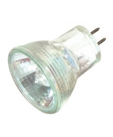 Satco S4645 Satco 10MR8/NFL 10 Watt 12 Volt MR8 GZ4 Base Lensed Narrow Flood Halogen Lamp