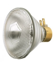 Satco S4674 Satco 90PAR/CAP/3SP 90 Watt 120 Volt PAR38 Medium Side Prong Capsylite Spot Light Bulb