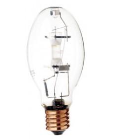 Satco S4395 Satco H37KB-250 250 Watt ED28 E39 Mogul Base Clear ANSI H37 4500K 10,000 Hour Mercury Vapor Light Bulb