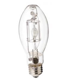 Satco S4828 Satco MP175/BU-ONLY/MED 175 Watt EDX17 Medium Base Standard Probe Start Clear Metal Halide Light Bulb