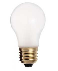 Satco S4881 Satco 40A15/TF 40 Watt 130 Volt A15 Medium Base Frosted Shatter Proof Incandescent Light Bulb