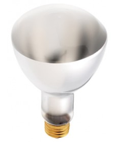 Satco S4956 Satco 50ER30 50 Watt ER30 130 Volt E26 Medium Base Frost Flood Reflector Elliptical Incandescent Light Bulb