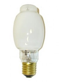 Satco S5130 Satco LU250/D 250 Watt BT28 Mogul Base Coated High Pressure Sodium Light Bulb