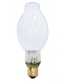 Satco S5132 Satco LU400/D 400 Watt BT37 Mogul Base Coated High Pressure Sodium Light Bulb
