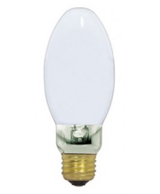Satco S5160 Satco LU70/D 70 Watt ET23.5 Mogul Base Coated High Pressure Sodium Light Bulb