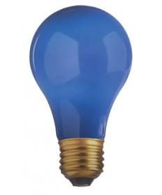 Satco S4981 Satco 40A/B 40 Watt Ceramic Blue Incandescent Light Bulb