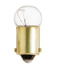 Satco S6933 Satco .220 Amp 7.5 Volt G3.5 Mini Bayonet Base Miniature Light Bulb