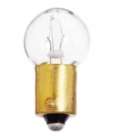 Satco S6948 Satco 7.54 Watt (0.58 Amp) 13 Volt B6 Single Contact Bayonet Base Clear Miniature Light Bulb
