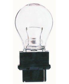 Satco S6963 Satco 18.43 Watt (1.6 Amp) 12.8 Volt S8 Plastic Wedge Base Clear Miniature Light Bulb