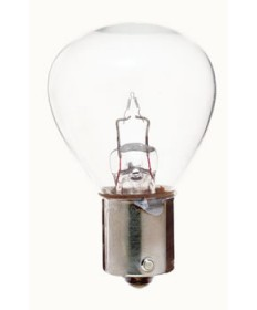 Satco S6967 Satco 3.91 Amp 6.2 Volt S8 Single Contact Bayonet Base Miniature Light Bulb