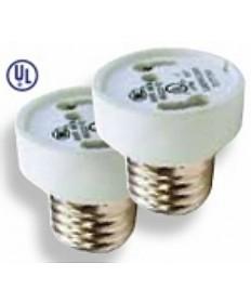 Satco S70/210 Satco E26 Medium to GU24 socket reducer