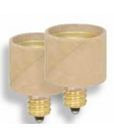 Satco S70/214 Satco E12 Candelabra Base to E26 Medium Base Extender