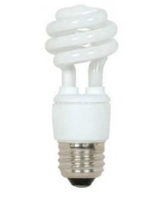 Satco S7212 Satco 9 Watt 120 Volt T2 Ultra Mini Spiral E26 Medium Base Energy Star Certified 4100K
