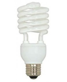 Satco S5401 Satco 20 Watt 120 Volt T2 Ultra Mini Spiral E26 Medium Base 2700K 10,000 Hour Eco-Friendly Compact Fluorescent Light Bulb (CFL)