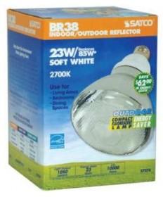 Satco S7274 Satco 23 Watt 120 Volt BR38 E26 Medium Base 2700K