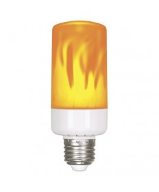 Satco S9806 5W/LED/FLAME BULB/120V 5 Watt LED Flame Bulb