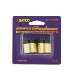 Satco S70/400 Satco S70-400 Medium base to candelabra base reducer